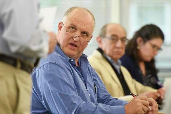 Stamford Republican Town Committee Chairman Fritz Blau.