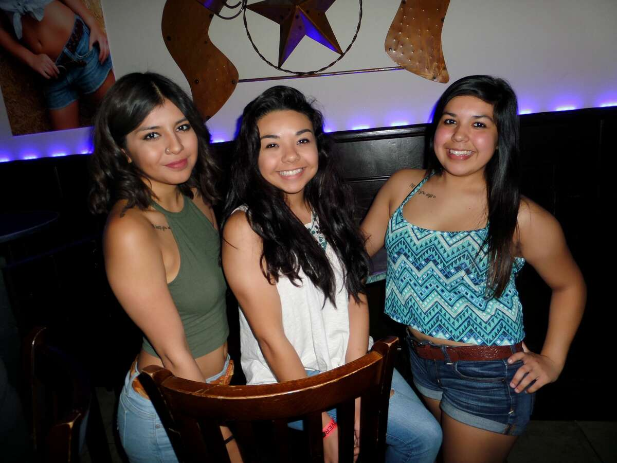 Delia Villarreal, Jamil Suarez and Nora Villarreal at Cowboys Norteno/Country Bar 2015