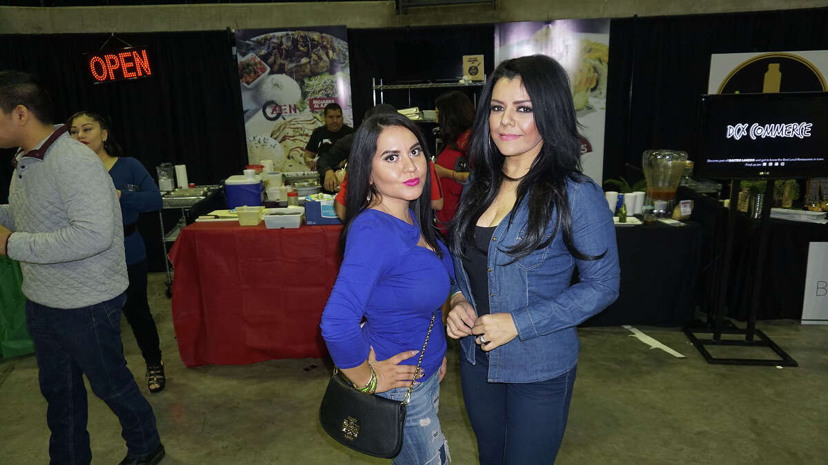 Clarissa Munoz and Karla Martinez at 2017 WBCA Taste of Laredo at the LEA 2017