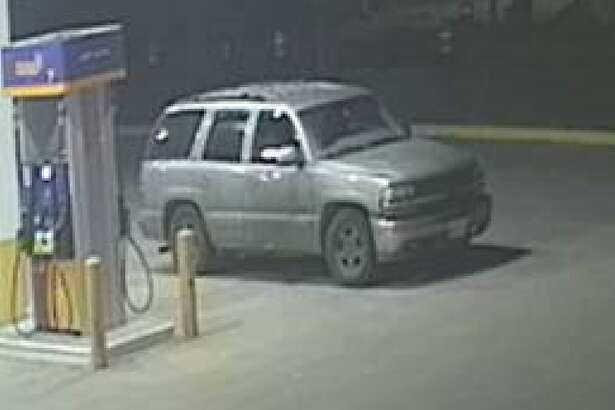 This light-colored Tahoe is the vehicle of interest linked to the fatal shooting.