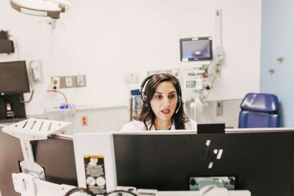Telemedicine options are growing throughout the nation as Americans work to remain healthy while also retaining social distance. (Danielle Scruggs/The New York Times)