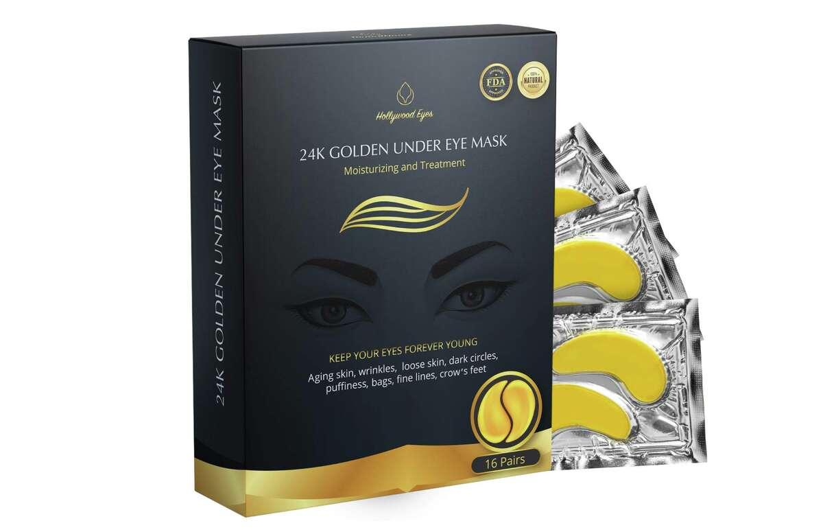 BrightJungle 24K Gold Under Eye Collagen Patch, $17.99