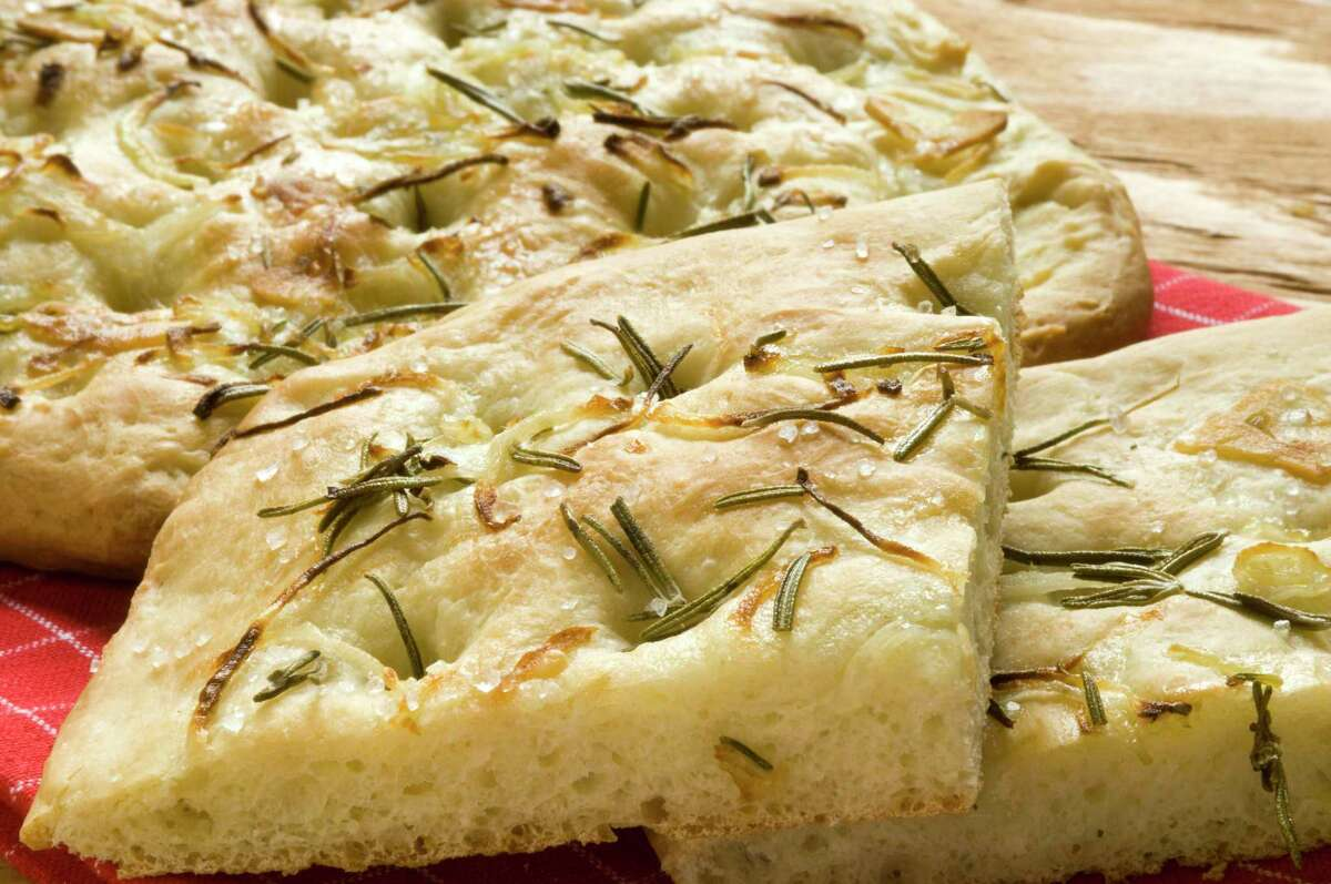 Baking focaccia will fill your kitchen with delicious smells.