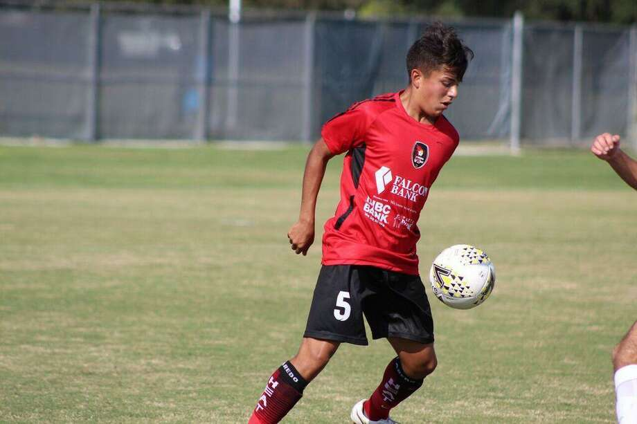 Local player Jorge Mares-Salinas, 16, was set to play for the Laredo Heat's NPSL team this summer. Photo: Courtesy Of The Laredo Heat