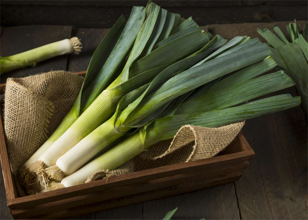 #39. Leeks (raw) - Nutritional fitness score: 0.54 - Known for being: Low-calorie - Price per 100 grams: $1.83 Part of the same family as garlic and onions, leeks are readily available in produce sections of the grocery store. High in folate, which supports cardiovascular health, and rich in antioxidants, leeks can be used in nearly any dish and can be baked, sauteed, grilled, or tossed into a salad. This slideshow was first published on theStacker.com