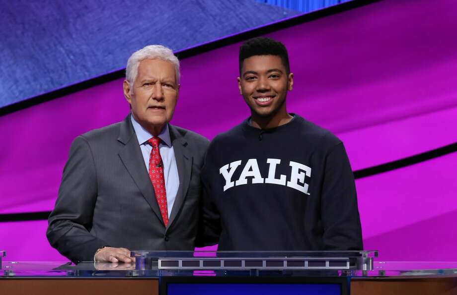 Nathaniel Miller, a sophomore at Yale, will be competing on the massively popular game show on Tuesday, April 7. Photo: Contributed By Jeopardy! / © 2020 Califon Productions, Inc.