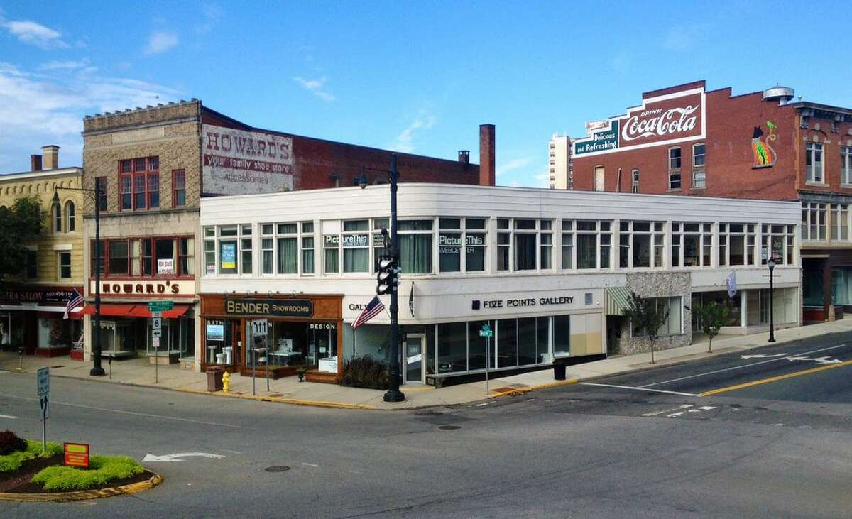 The Five Points Gallery in downtown Torrington is in the center of an area of focus for Blue Haus Group, a marketing, real estate and promotions company recently hired by the city.