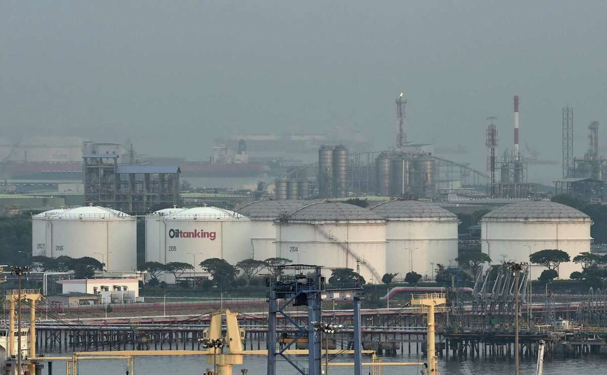 The world is running out of storage as demand for oil plummets in the face of the coronavirus pandemic. U.S. petroleum inventories surged last week, the Energy Department reported Wednesday.