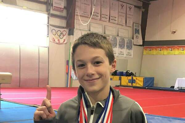 Perry Hill School sixth grader Will Yearsley earned All Around CT state champion honors at the Connecticut State Men's Gymnastics Competition March 8.