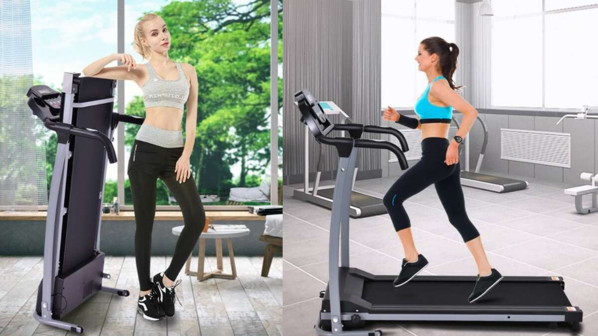 Costway 800W Folding Treadmill Electric Portable, $319.99 (Normally $499.99)
