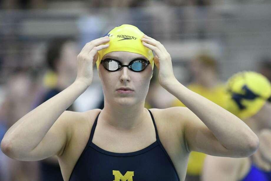 Kaitlynn Sims Photo: Michigan Athletics, Freelance Photographer / UM Photography, L. Horwedel / Copyright 2019, © Michigan Photography. ALL RIGHTS RESERVED. (734) 764-9217. photography.umich.edu