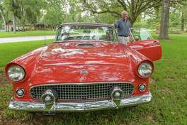 The novel coronavirus pandemic has led to postponement of the Friendswood Chamber of Commerce's annual Friendswood Auto and Bike Show, which had been set for May. The show, known for vintage rides like this, is now set for Nov. 14.
