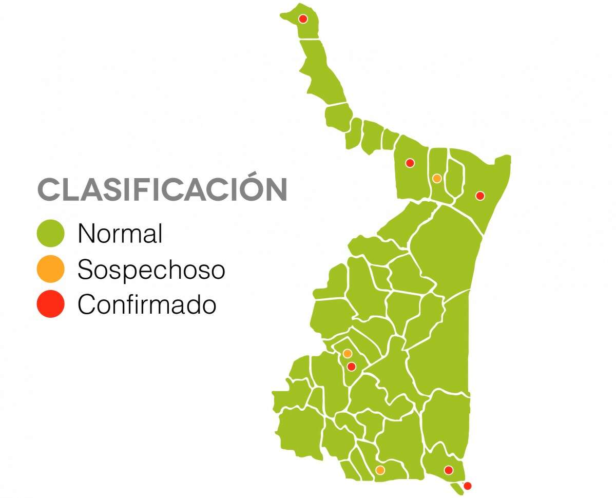 Data from the Tamaulipas State Government website shows coronavirus data from the Mexican state directly bordering Laredo.