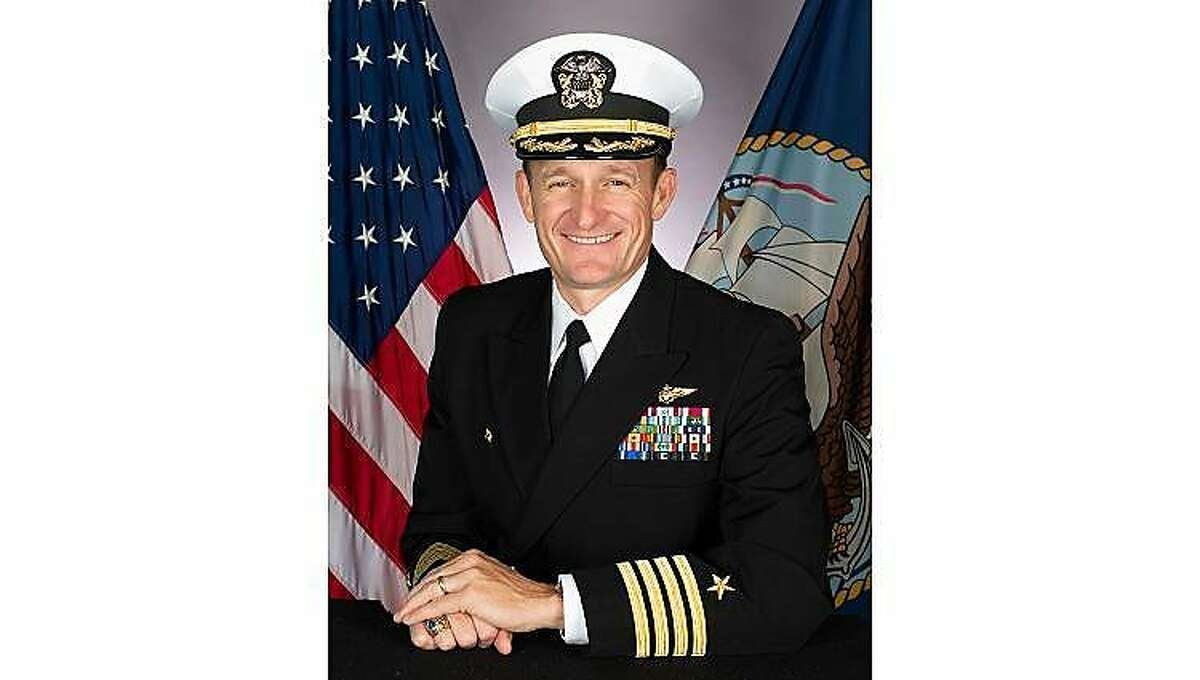 Capt. Brett Crozier, a Santa Rosa native, wrote a letter to Navy brass Monday pleading for immediate assistance with the exploding COVID-19 outbreak aboard his aircraft carrier, the U.S.S. Theodore Roosevelt.