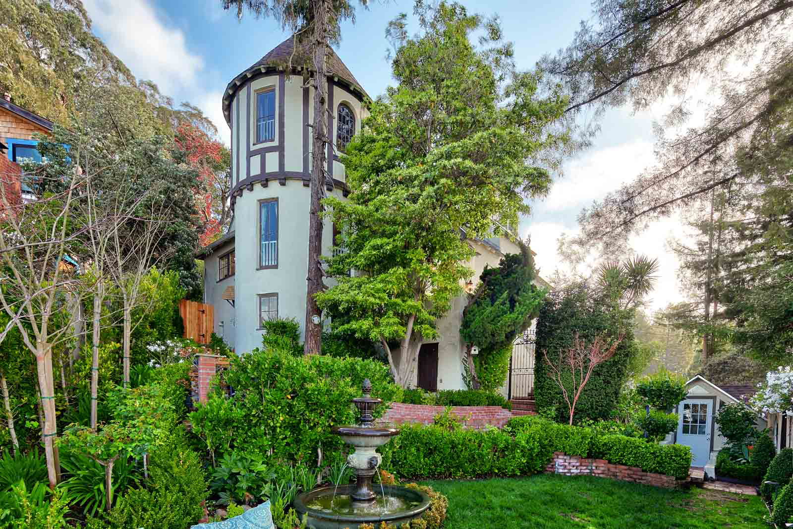 Check Out The Fifty Foot Tower On This Storybook Spanish Revival Berkeley Hills Home