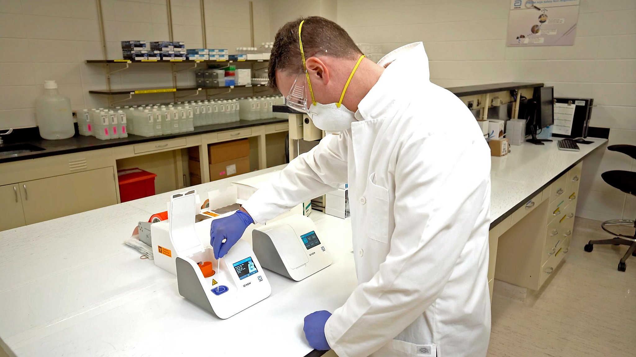 Speedy Coronavirus Test Results Due This Week But Not Everywhere Sfchronicle Com