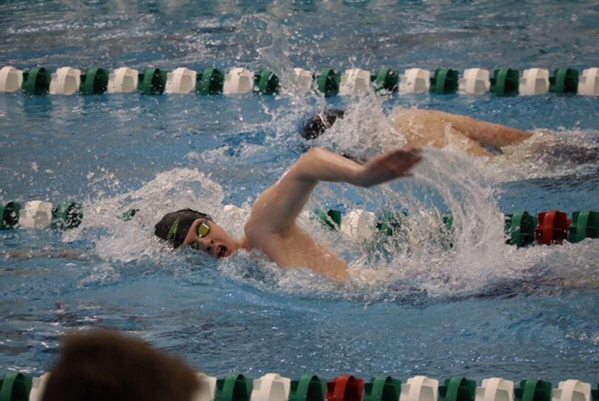 Albany Academy swimmer Bryce Henkel. (Courtesy photo)