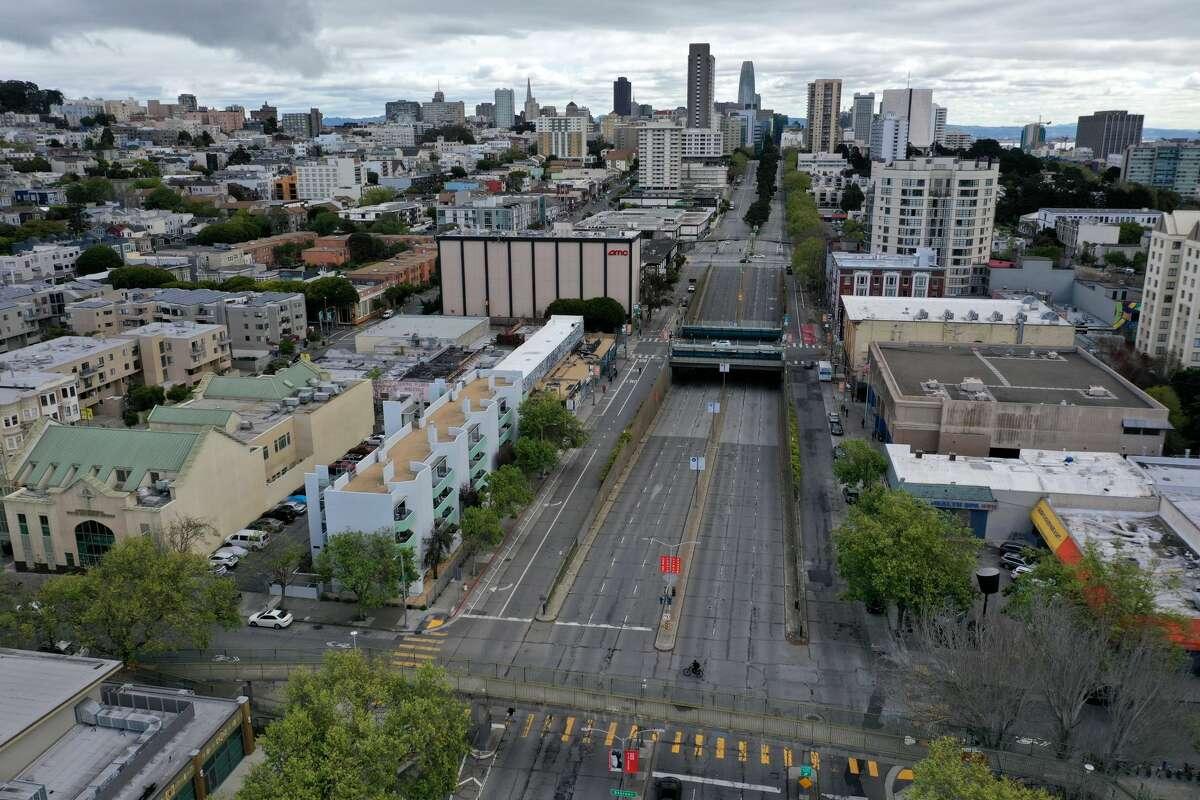 Geary Boulevard.