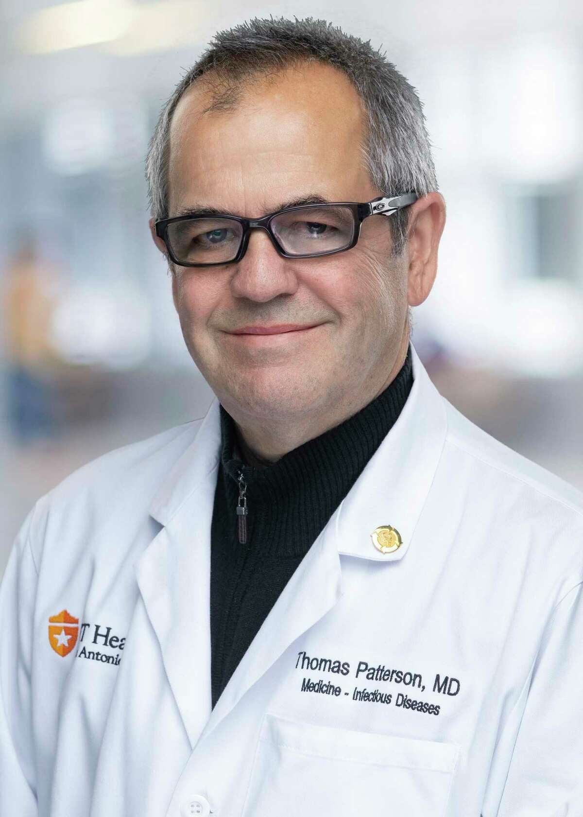 Dr. Thomas Petterson, chief of the Division of Infectious Diseases at UT Health San Antonio, is a leader of a clinical trial at University Hospital to test the effectiveness of remdesivir as a treatment for the novel coronavirus.