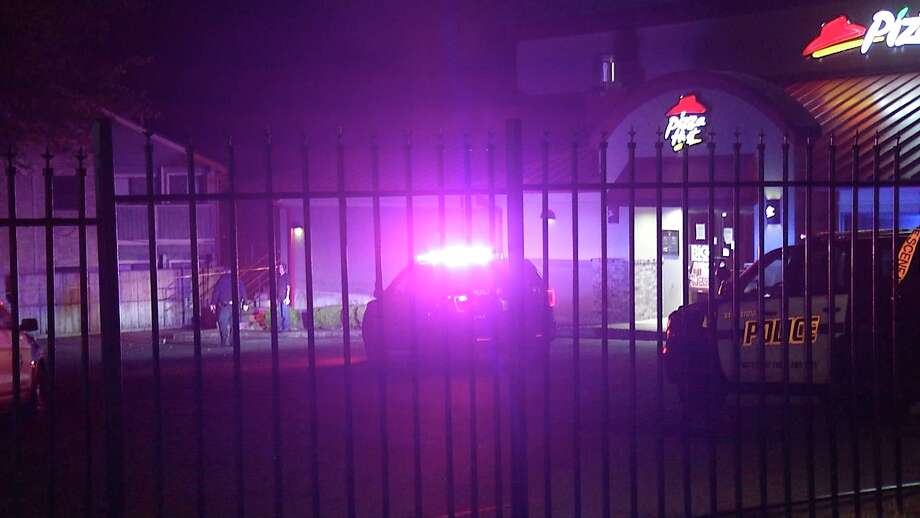 A woman was shot after a robbery at a Northeast Side Pizza Hut late Monday night, according to San Antonio police. Photo: Ken Branca