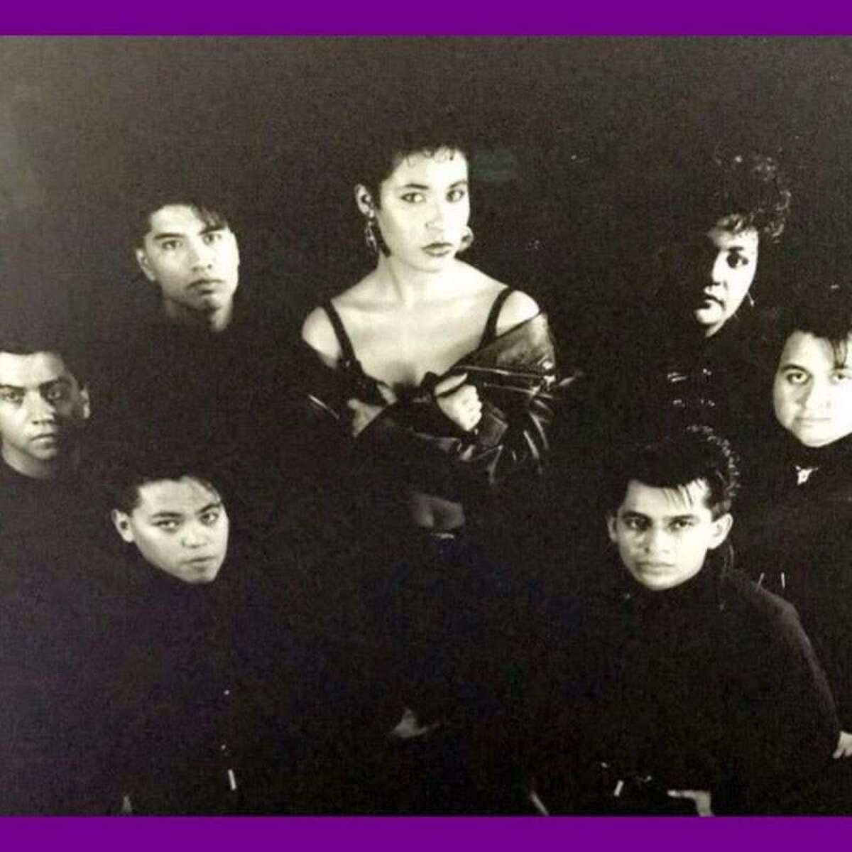 Photos from Pete Astudillo's personal collection show the Laredo native performing with late Tejano queen Selena.