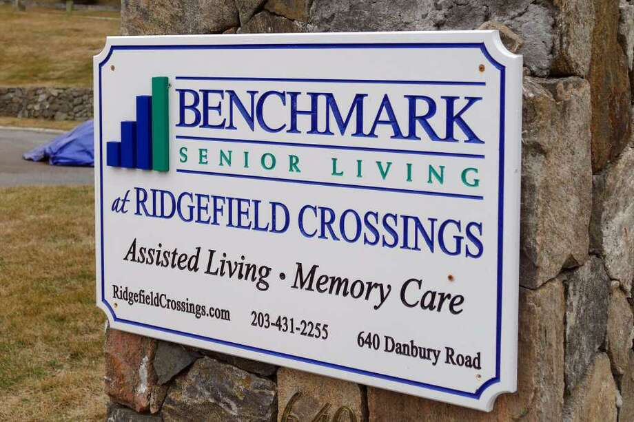 Benchmark Senior Living at Ridgefield Crossing, on Route 7, in Ridgefield, Conn. March 19, 2020. An 88-year-old former resident of the facility became the state's first COVID-19 fatality. He died Wednesday morning at Danbury Hospital. Photo: Peter Yankowski / Hearst Connecticut Media