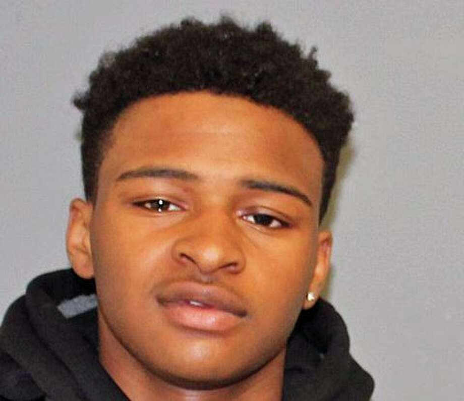 Nehemian Coates, 18, of Waterbury, was charged with third-degree larceny, criminal attempt at third-degree burglary, interfering with officers, simple trespass and operating a motor vehicle under suspension. Photo: Shelton Police Department / Contributed Photo