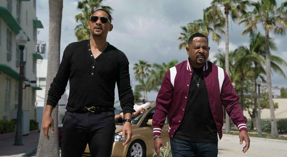 """Will Smith and Martin Lawrence are back on the streets in """"Bad Boys for Life."""" Photo: Ben Rothstein /Associated Press / © 2019 CTMG, Inc. All Rights Reserved. ALL IMAGES ARE PROPERTY OF SONY PICTURES ENTERTAINMENT INC. FOR PROMOTIONAL USE ONLY. SAL"""