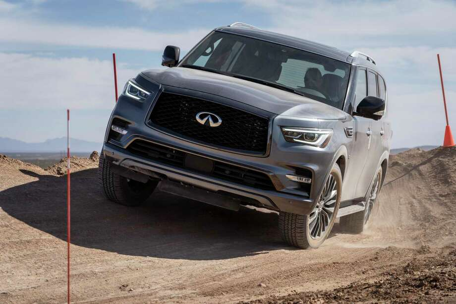 The 2020 Infiniti QX80 offers 13 mpg city, 19 highway. Photo: Infiniti Pressroom/ Contributed Photo / Copyright 2020
