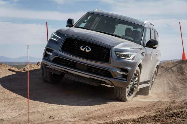 The 2020 Infiniti QX80 offers 13 mpg city, 19 highway.