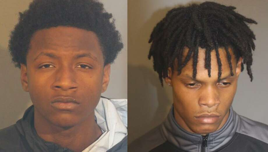 Nykeem Hawkins, 18, and Kenaas Council, 19, were arrests in connnection with the March 18 stabbing death of 21-year-old Willy Placencia in Danbury. Photo: Danbury Police Department