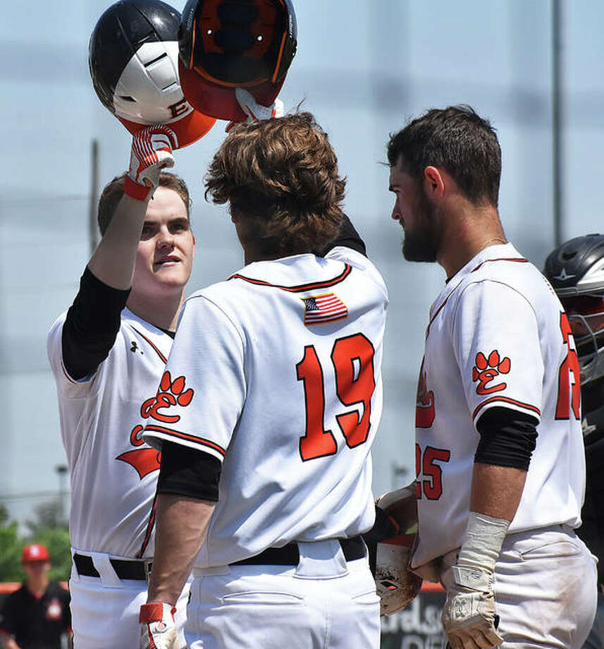 A year ago, the Edwardsville baseball team was in the middle of its season that ended with the program's third state championship. Here is a look back at the regular season. This is the first in a series of photo sessions looking back at last year's spring season for all three area schools. Photo: Intelligencer Sports Staff