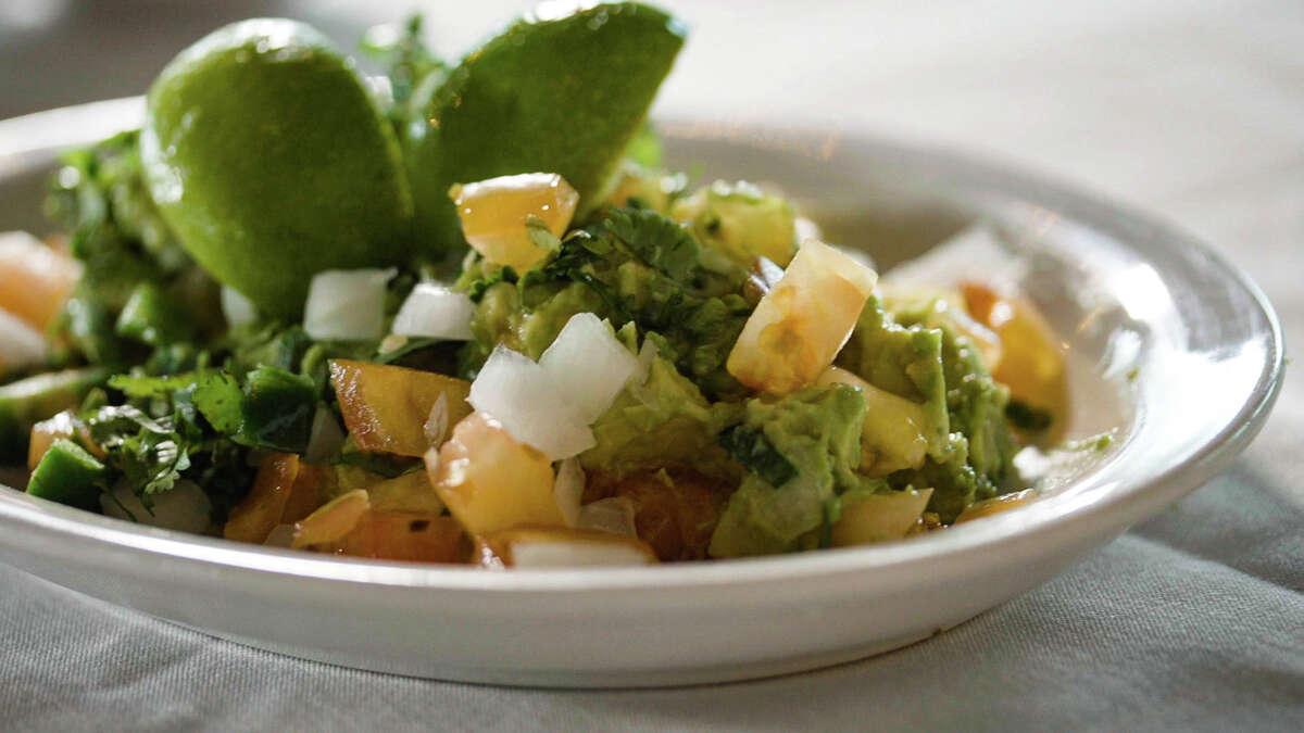 Follow along via chef Padilla's video tutorial for guacamole.