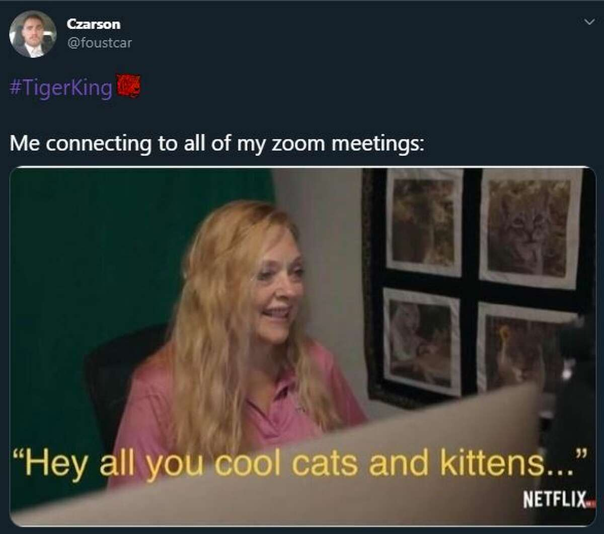 Netflix S Tiger King Starring Former Zoo Keeper Joe Exotic Sparks Hilarious Memes