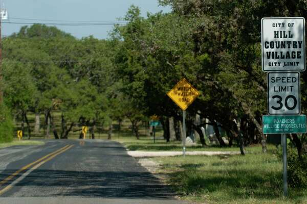 Hill Country Village has a rural feel to it, even to the extent that no poaching signs are publicly displayed.