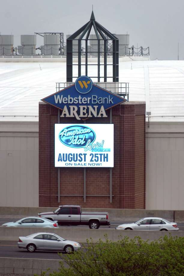 The state decided not to use Bridgeport's Webster Bank arena for hospital overflow stemming from the coronovirus outbreak at this time. Photo: Ned Gerard / Connecticut Post