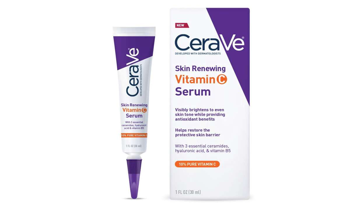 CeraVe Vitamin C Serum with Hyaluronic Acid, $15.69