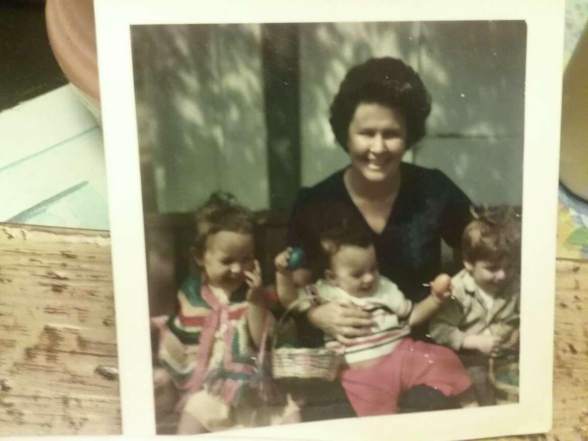 Jennifer Decker with grandmother