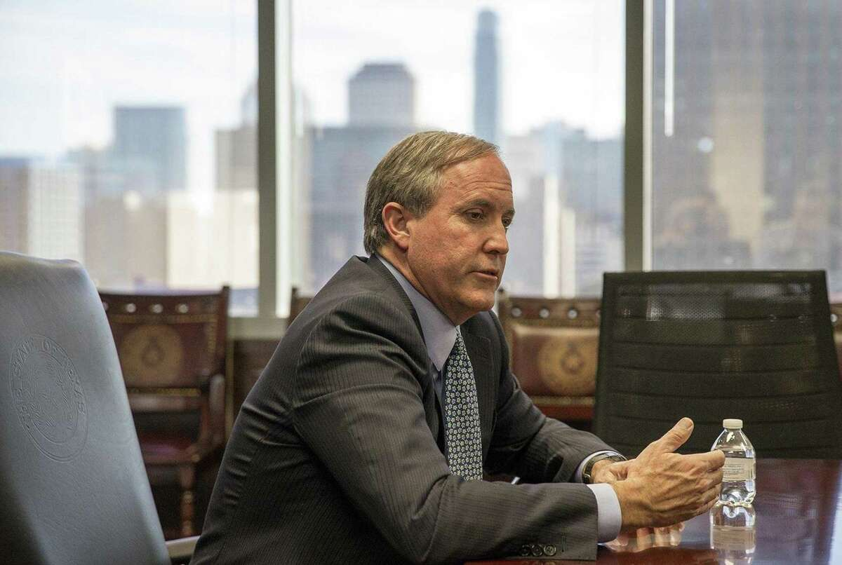 """Paxton contended that Texas' emergency management laws allow the governor, but not local governments, to """"prohibit, delay or restrict"""" the eviction process. (Nick Wagner/Austin American-Statesman/TNS)"""