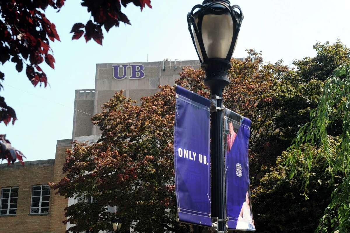 The University of Bridgeport campus, in Bridgeport.