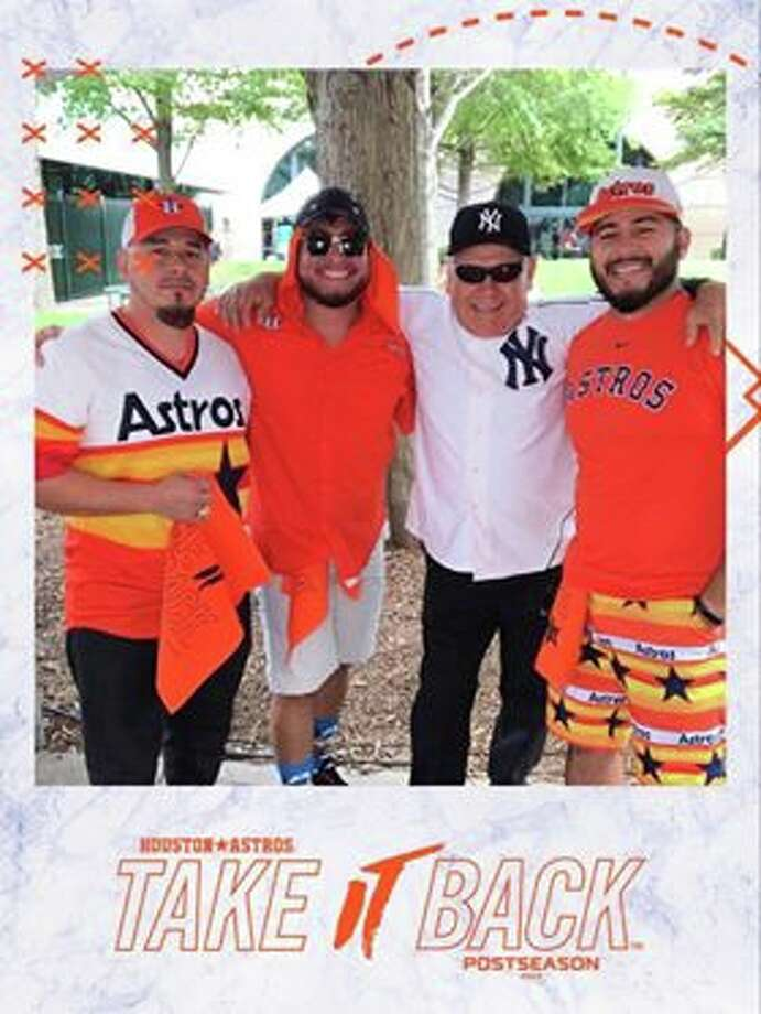 Manny misses supporting the Astros. Readers shared photos of events past that they are missing amid the ongoing coronavirus quarantine. Photo: Manny Rojas