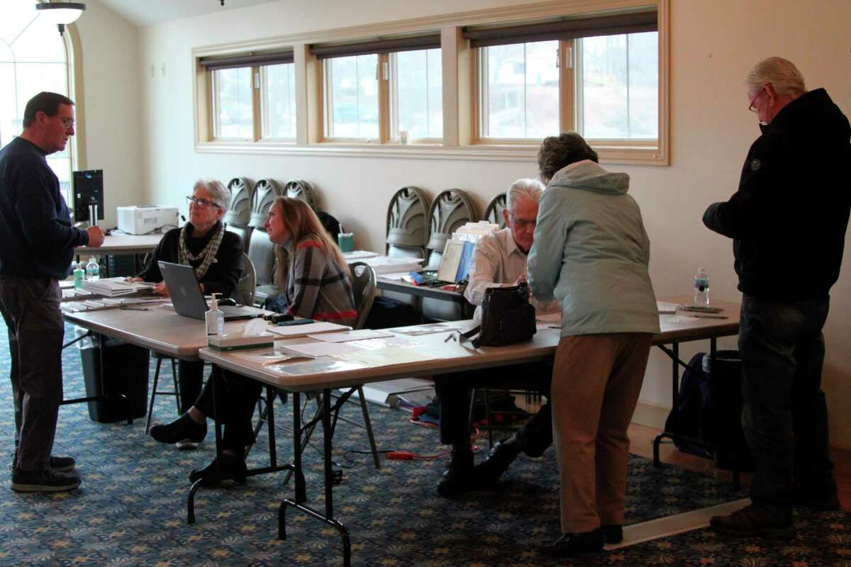 One of the concerns of clerks with holding the May 5 election is the need for social distancing with the coronavirus pandemic. The Manistee Intermediate School District Special Education millage renewal is the only issue on the ballot. (Ken Grabowski/News Advocate)