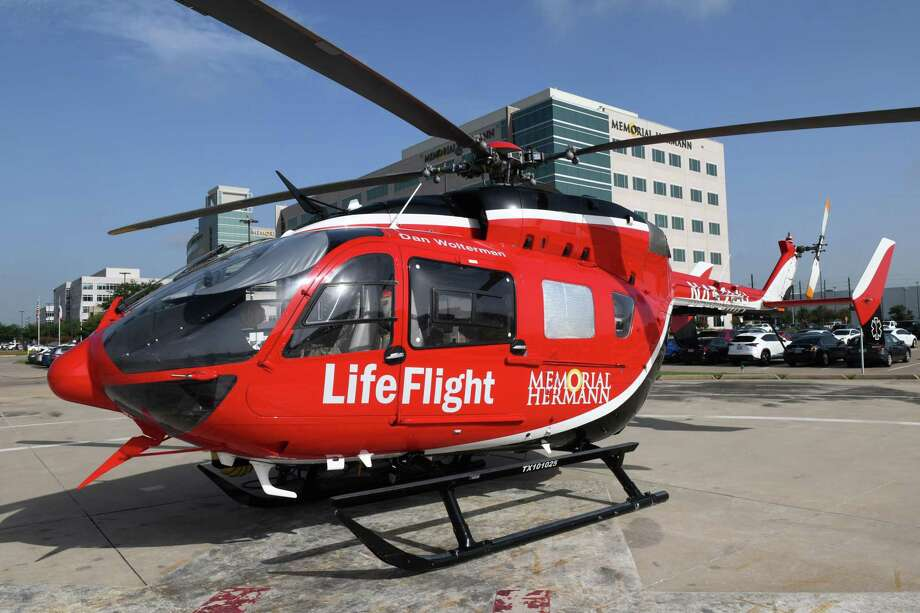 The teen traveled by Life Flight to Memorial Hermann Hospital in Houston. He is expected to make a full recovery. Photo: Craig Moseley, Houston Chronicle / Staff Photographer / ©2019 Houston Chronicle