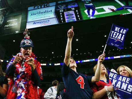 Texans fans, cheering a wild-card win over Buffalo last season, could have more to watch next season with an expanded playoffs.