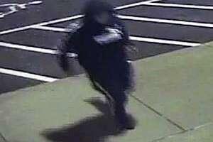 A burglary suspect, according to Norwalk police.