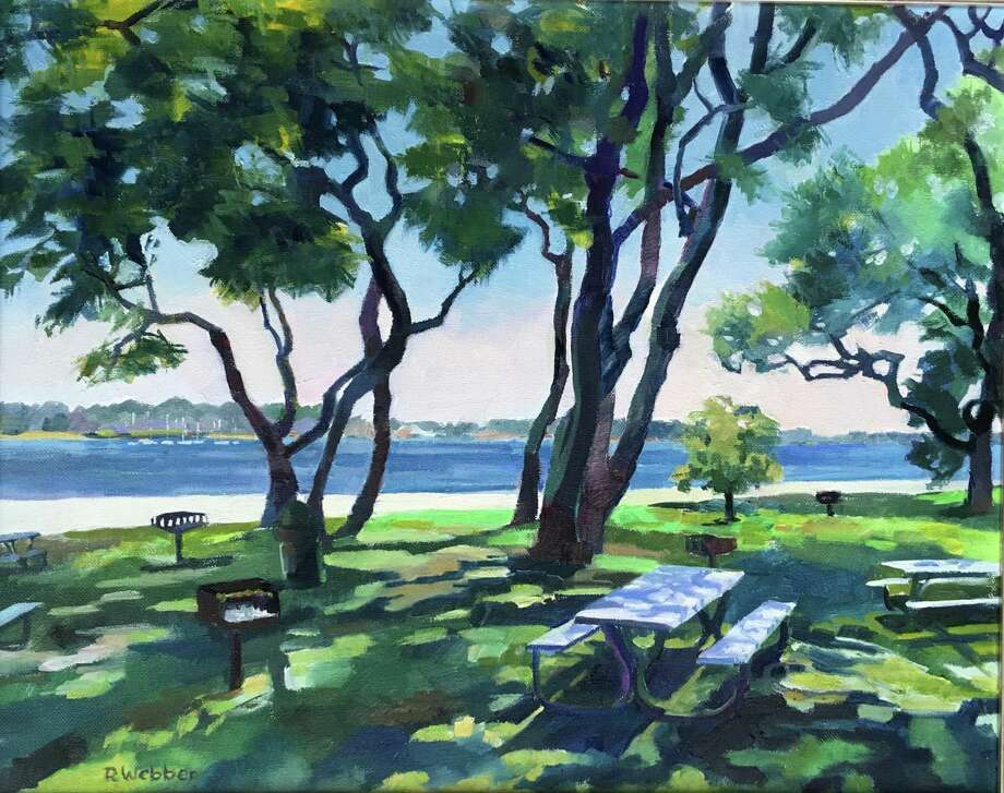 """Spectrum Gallery & Store's new show, Shadow Dance, is available to view online. Above, """"Summer at Esker Point,"""" oil, Rosemary Webber. Photo: Spectrum Gallery / Contributed Photo /"""