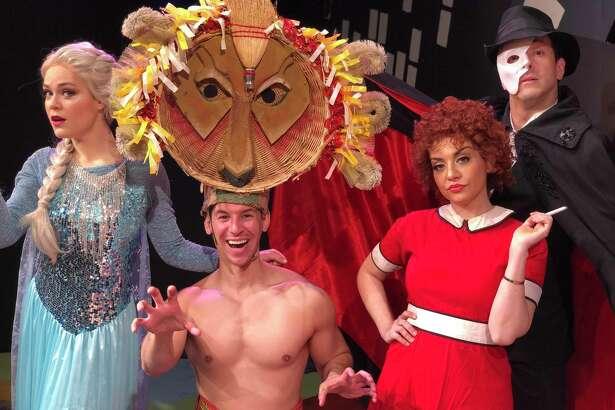 Ivoryton Playhouse actors Katheryne Penny, Chris Behmke, Sandra Marante and Josh Powell.