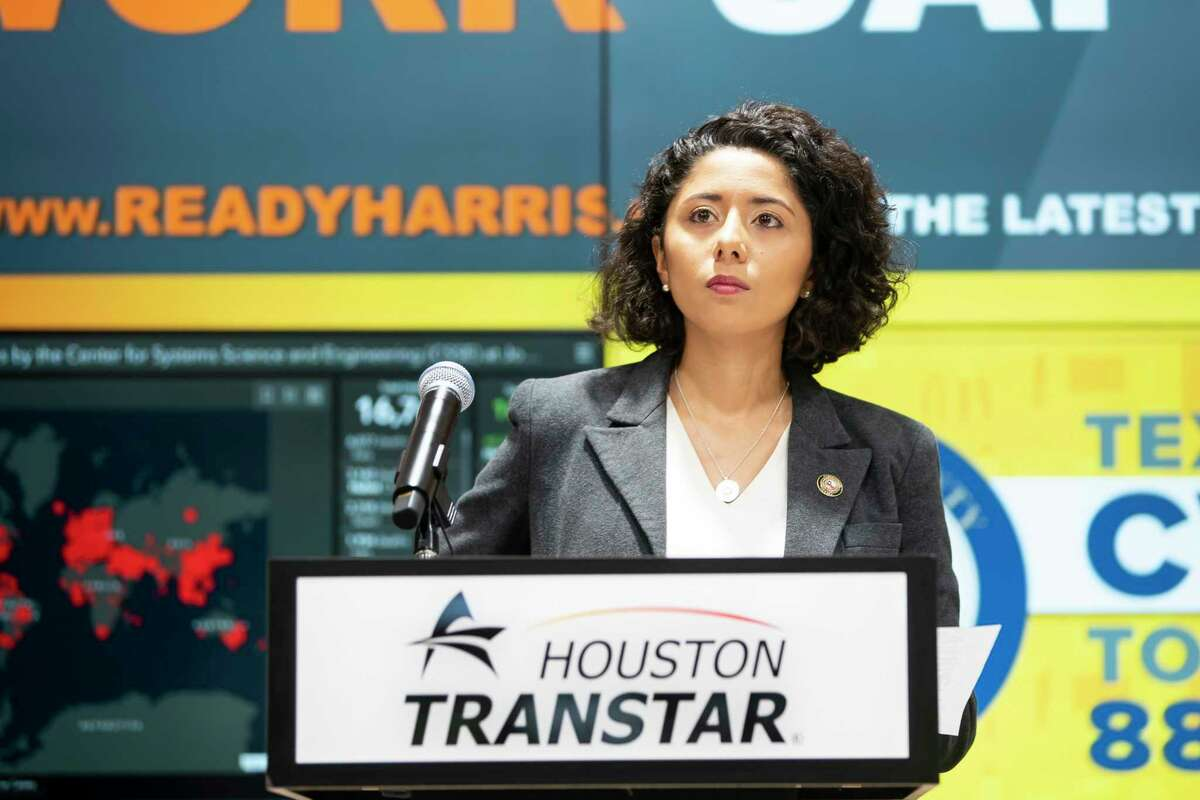 Harris County Judge Lina Hidalgo said her order to release inmates would be limited to those with no violent history.