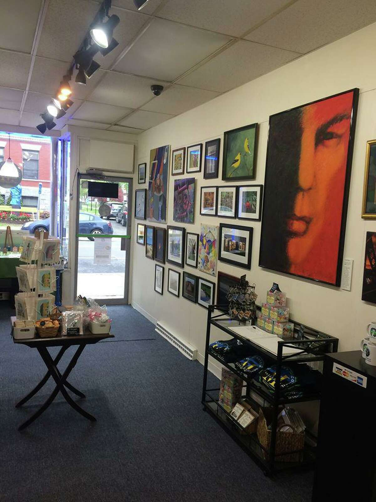 Valley Arts Council's Main Street Gallery in Ansonia