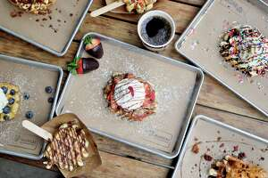 Press Waffle Co. plans to open a location in Creekside Park West, at 26435 Kuykendahl Road in The Woodlands.